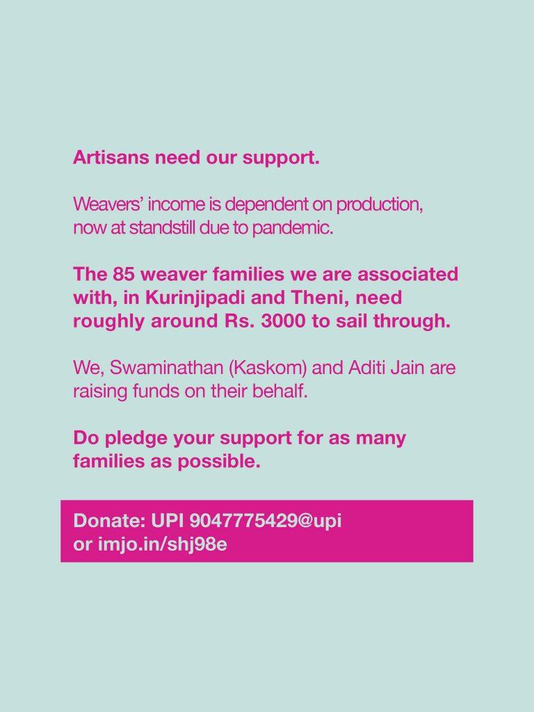 Raising funds for Artisans